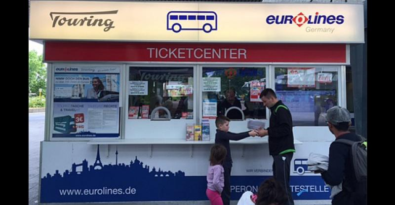 Ticket-Center na željezničkom kolodvoru u Berlinu