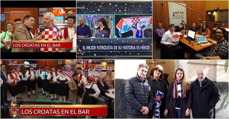 U ARGENTINI SU MEDIJI POLUDJELI ZA HRVATSKOM 'Zovu nas na televiziju, radio, žele znati sve! A srce nam je podijeljeno'