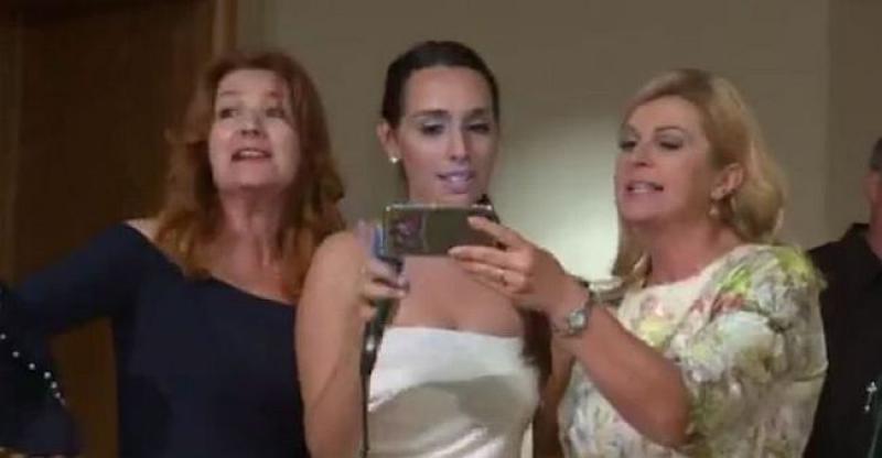 (VIDEO, FOTO) RASPJEVANA PREDSJEDNICA S američkim Hrvatima totalno otpustila kočnice