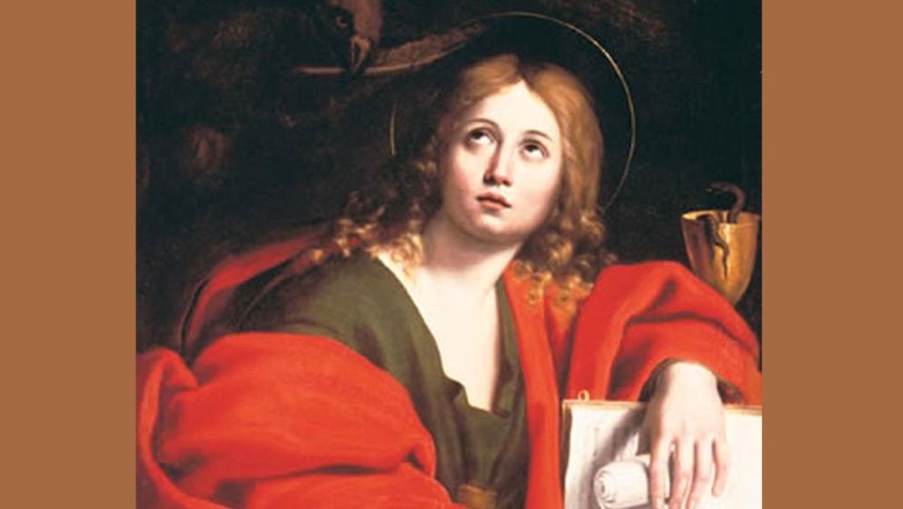 SVETI IVAN APOSTOL Isusov miljenik kojem je otkrivena Apokalipsa i povjerena briga za Mariju