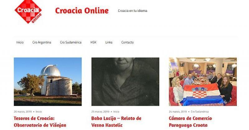 NOVI PROJEKT 'CROACIA ONLINE' 'Želimo da se oni koji govore samo španjolski zaljube u Hrvatsku'