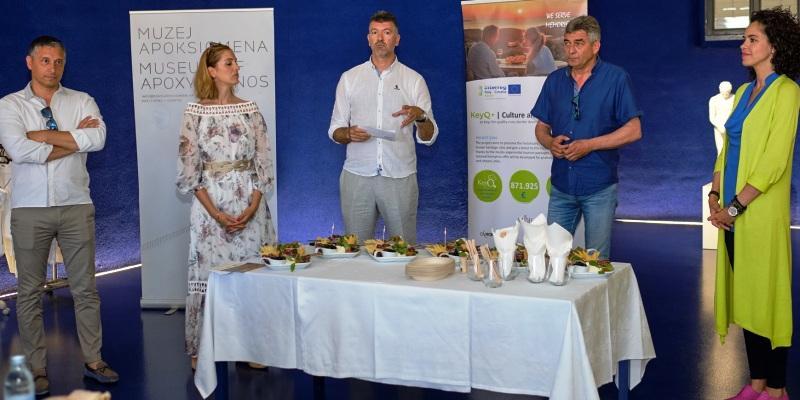 KeyQ+: Razmjena iskustva, prezentacija jelovnika i proizvoda partnera u projektu, promocija projektnih rezultata u Malom Lošinju