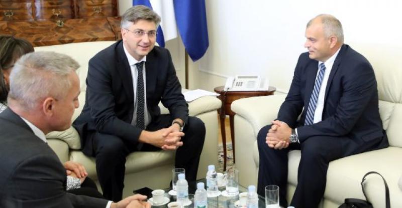 BRIGA O ISELJENIM HRVATIMA Plenković razgovarao sa slovenskim Hrvatima o njihovu neriješenom statusu