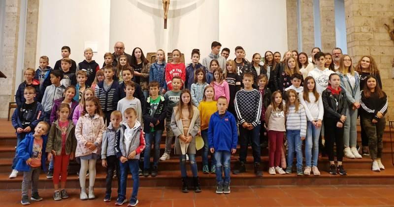 LUDWIGSHAFEN AM RHEIN Susret zborova djece i mladih iz hrvatskih katoličkih misija i zajednica iz Njemačke