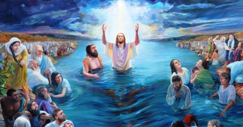 EVANĐELJE NEDJELJOM Odmah nakon krštenja ugleda Isus Duha Božjega gdje se spušta na nj