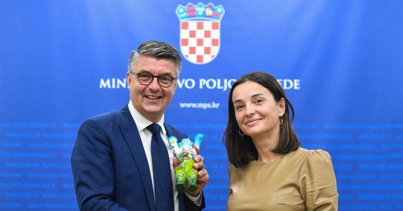 PLENKOVIĆ I VUČKOVIĆ OTVARAJU SAJAM U BERLINU Hrvatska je zemlja partner najvećem međunarodnom poljoprivrednom sajmu Zeleni tjedan