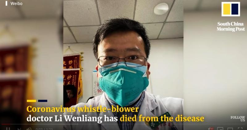 Smrt liječnika koji je bio kažnjen zbog ranog upozorenja na koronavirus, izazvala žalost i bijes kineske javnosti