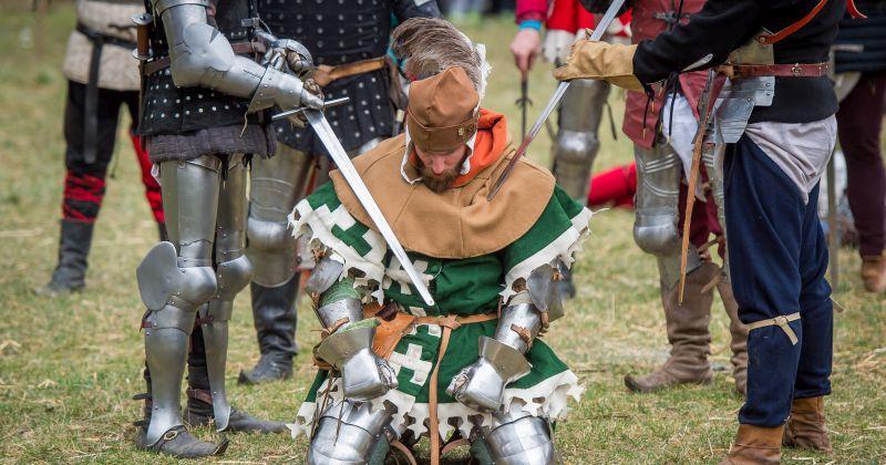 ATRAKTIVNA BITKA KOD SAMOBORA Ove godine bit će više stvarne borbe sa stotinjak vitezova u oklopima