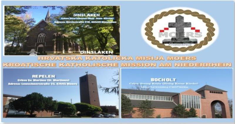 HKM MOERS Raspored svetih misa na hrvatskom jeziku u vrijeme pandemije