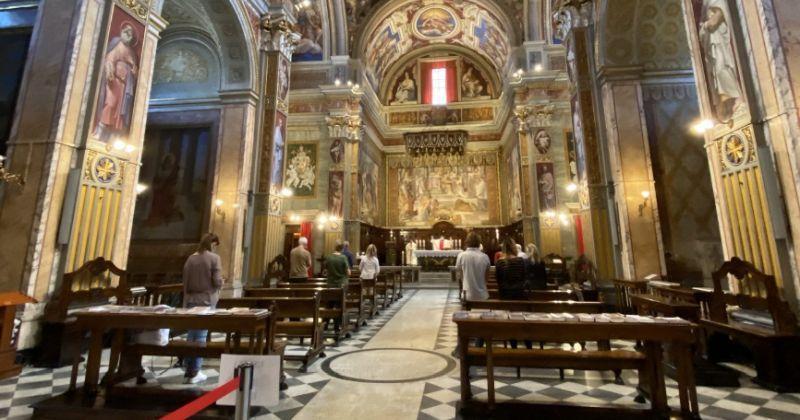 MOLITVA NA TALIJANSKOM U hrvatskoj crkvi sv. Jeronima u Rimu ponovno mise s narodom