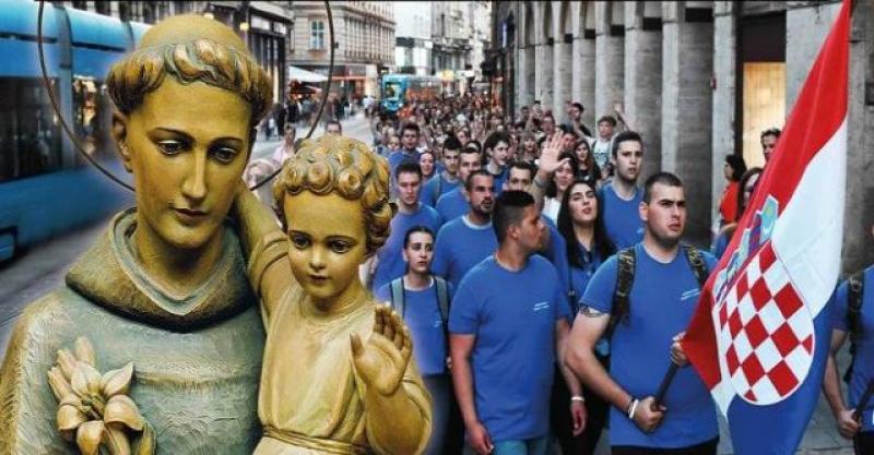 (VIDEO) BOG ĆE SE PROSLAVLJATI I OVE GODINE ULICAMA ZAGREBA Mateo Kovačić poziva na drugi Antunovski hod mladih 6. lipnja
