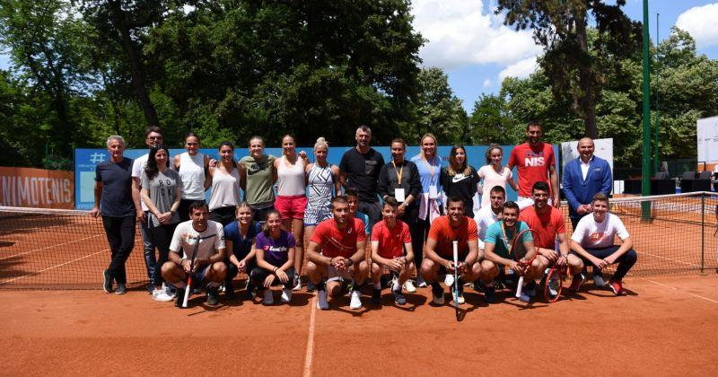 POVIJESNI DAN ZA HRVATSKI TENIS Turnir u Osijeku okupio legende, od Gorana Ivaniševića, Ive Majoli do Marina Čilića. Razlog okupljanja je predivan