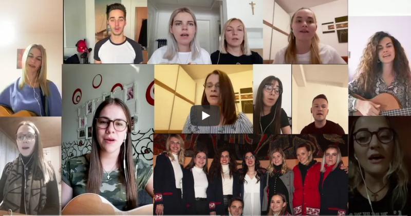 OHRABRI SE  – Radosnom pjesmom poručuje virtualni zbor mladih iz Austrije. Poslušajte kako zvuči!