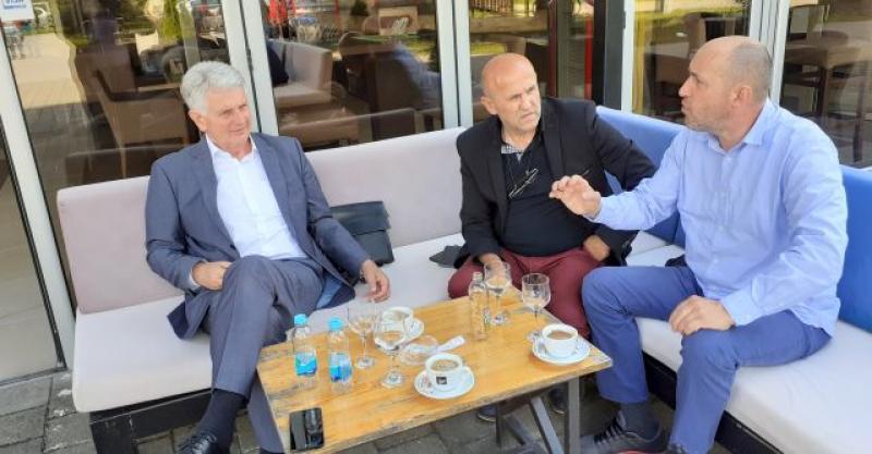 NISU IH SVI ZABORAVILI Zastupnik Ivica Mišić posjetio Hrvate prijedorskoga kraja