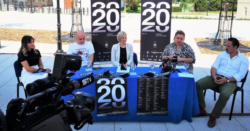 20. OSJEČKO LJETO KULTURE POČINJE 29. LIPNJA Ovogodišnji program publici će ponuditi 46 raznovrsnih izvedbi