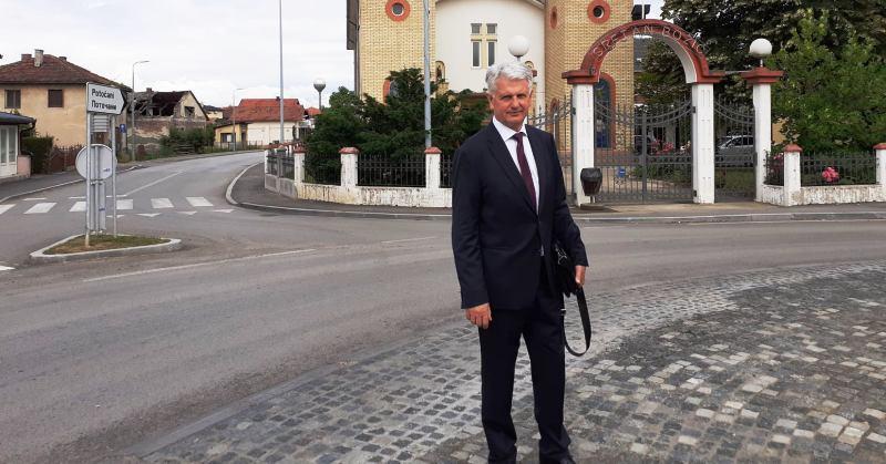 Saborski zastupnik i neovisni kandidat HDZ-a za XI. izbornu jedinicu Ivica Mišić: 'Potrebno je što prije otvoriti konzulat RH u Orašju'