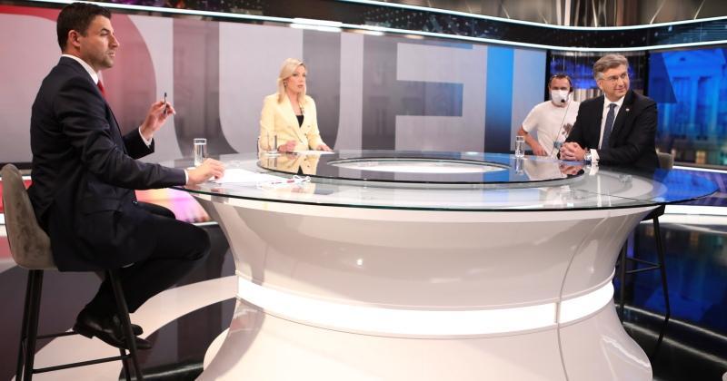 PLENKOVIĆ I BERNARDIĆ PRVI PUTA NA TV SUČELJAVANJU Premijer rekao da se dosad na Covid-19 testirao četiri puta