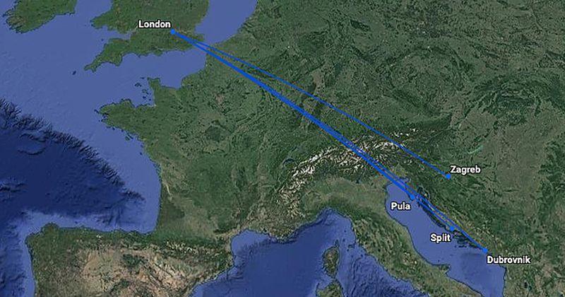 BRITISH AIRWAYS POVEĆAVA PROMET PREMA HRVATSKOJ Ponovno se pokreću letovi na liniji London – Pula