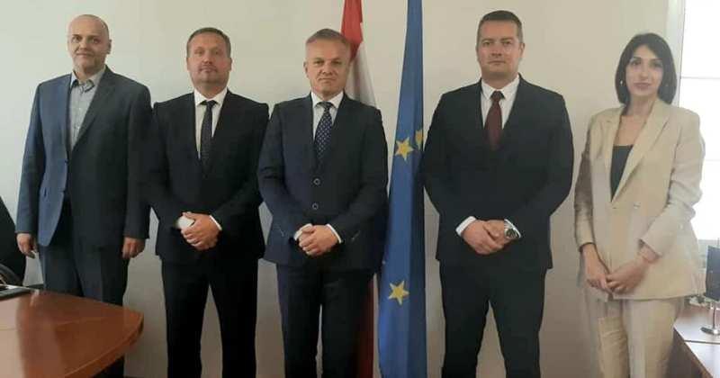 ZVONKO MILAS SASTAO SE S Adrijanom Vuksanovićem, zastupnikom u Skupštini Crne Gore