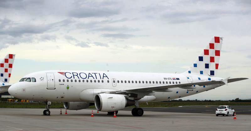 CRNE BROJKE Gubitak Croatia Airlinesa u prvom polugodištu 173,2 milijuna kuna