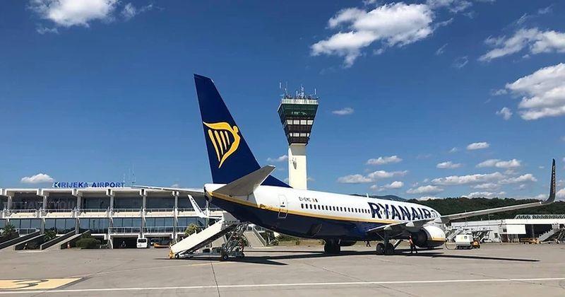 NISKOBUDŽETNI LETOVI Ryanair ponovno prometuje na liniji Frankfurt – Rijeka