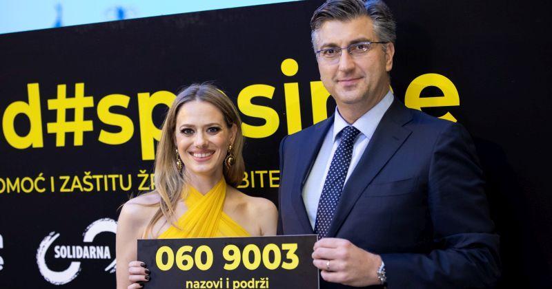 VELIKI USPJEH Hrvatski fond #spasime koji pomaže žrtvama nasilja dobio prestižnu nagradu Golden World Awards