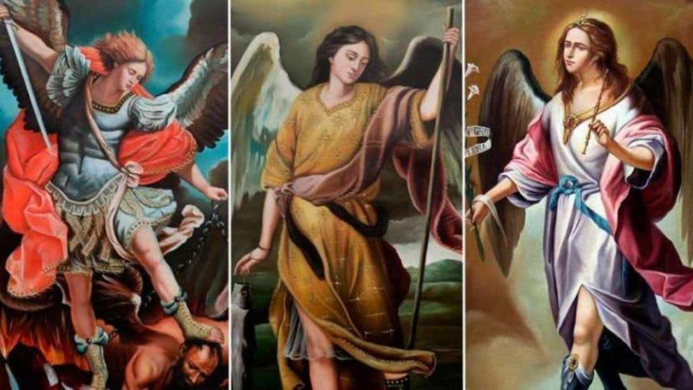 Svima koji nose imena svetih arkanđela – Mihaela, Gabrijela i Rafaela želimo sretan i blagoslovljen imendan