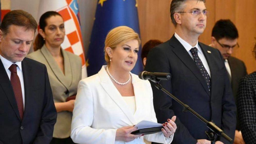 Kolinda Grabar-Kitarović operirana na Rebru, čeka je višemjesečni oporavak
