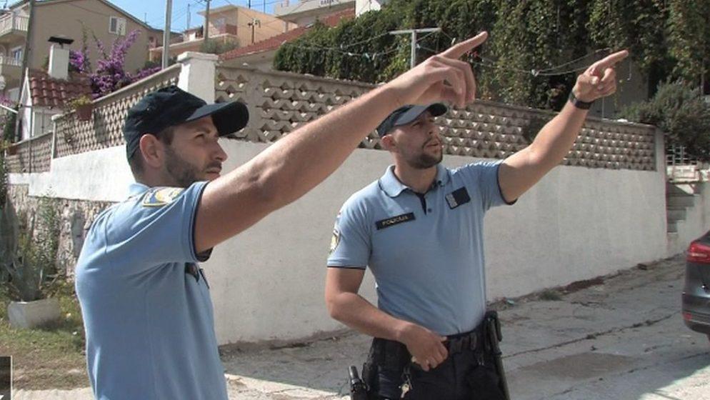Hrabri mladi policajci Marko i Toni oduševili Hrvatsku!