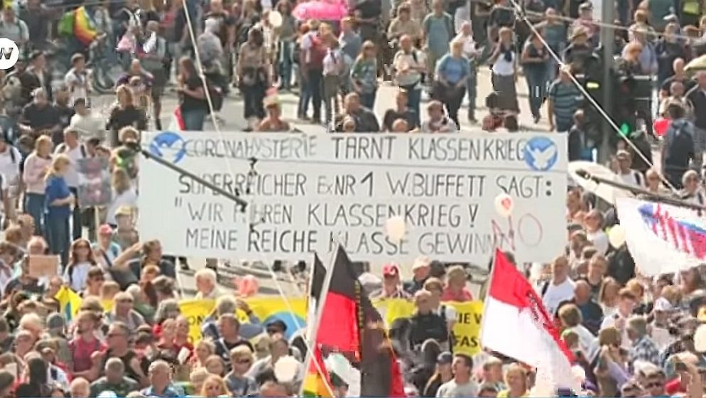 Nijemci u strahu; anti-korona prosvjedi mogli bi se dodatno radikalizirati