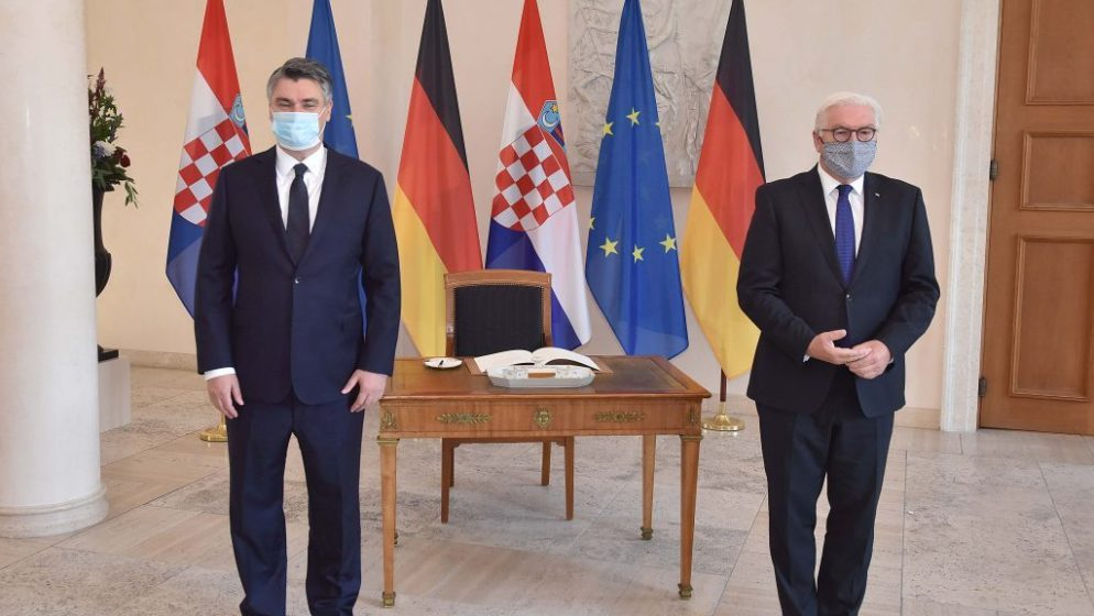Steinmeier pohvalio Milanovićevu politiku pomirenja