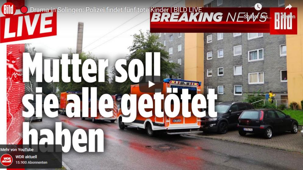 U Solingenu pronađeno petero mrtve djece, sumnja se na majku