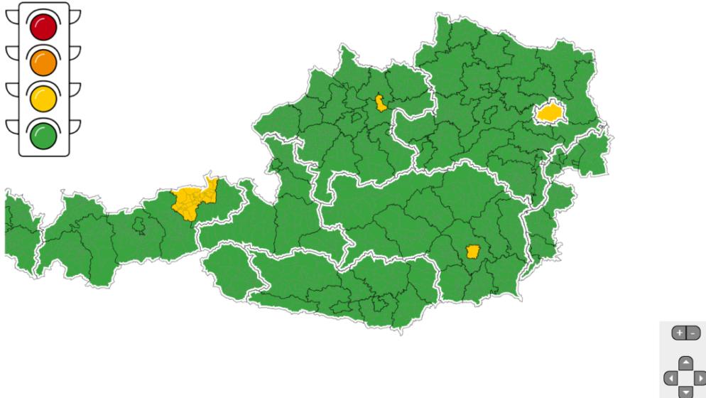 Austrija uvela 'korona-semafor'