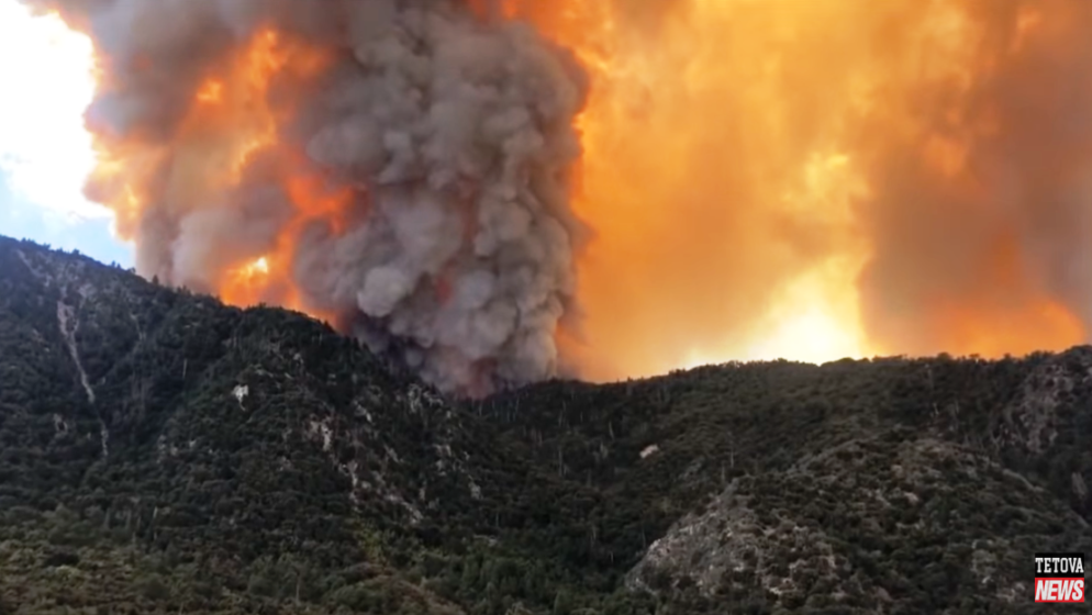 Vatrena stihija uništila grad u Washingtonu, divlja Kalifornijom i Oregonom