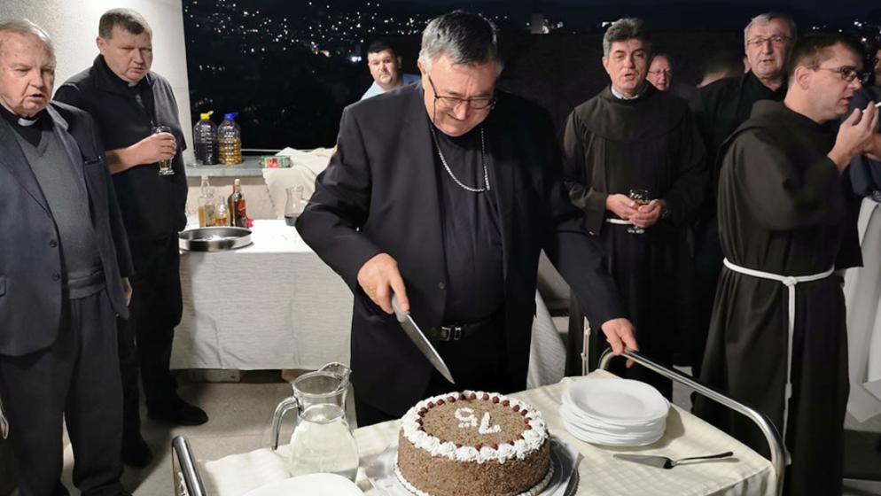 Vrhbosanski nadbiskup kardinal Vinko Puljić proslavio 75. rođendan