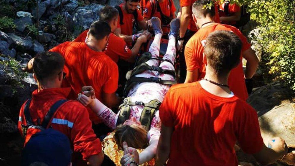 Spasioci u nedjelju šest puta  spašavali hodočasnike u Međugorju