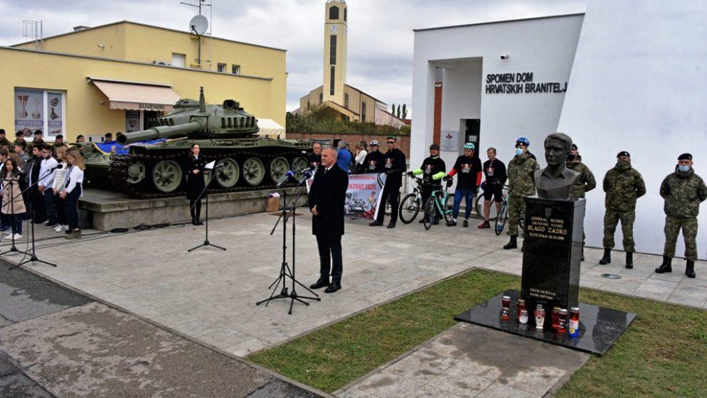 U Vukovaru obilježena 29. godišnjica pogibije general-bojnika Blage Zadre i bojnika Alfreda Hilla