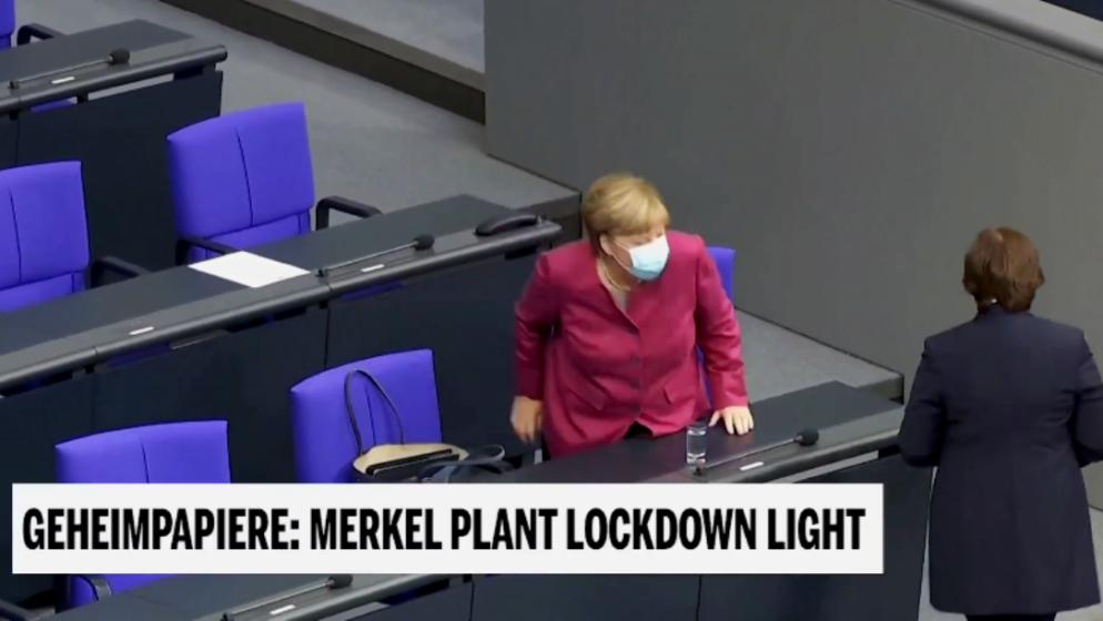 Njemačka kancelarka Angela Merkel planira uvesti 'Lockdown light', restorani i barovi moraju zatvoriti
