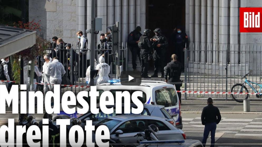 (VIDEO) FRANCUSKA – U Nici muškarcu prerezan grkljan, a dvjema ženama odrubljene glave