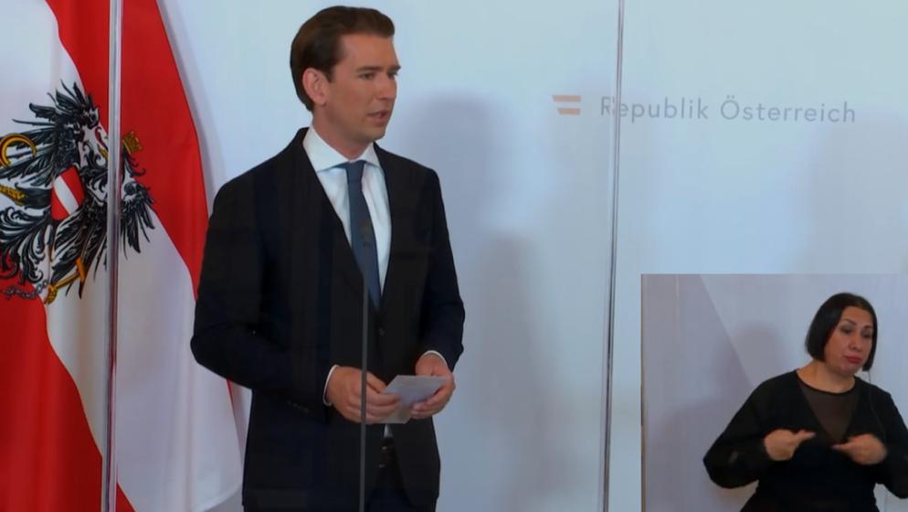 UŽIVO – Sebastian Kurz obratio se javnosti u 14 sati