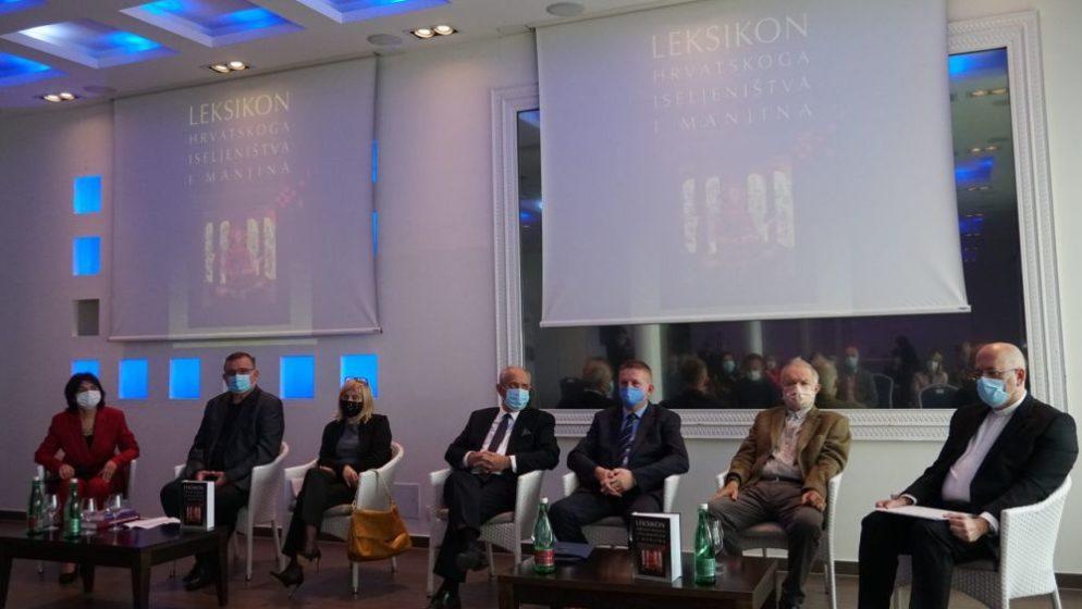 Predstavljen Leksikon hrvatskoga iseljeništva i manjina: 'Iseljena Hrvatska je još uvijek jedan bogat rezervoar koji nije iskorišten'