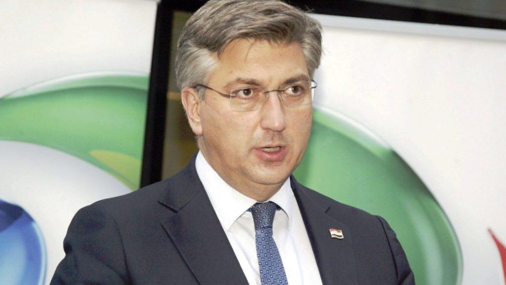 Plenković: Nema šanse da današnji HDZ nosi etiketu Ive Sanadera