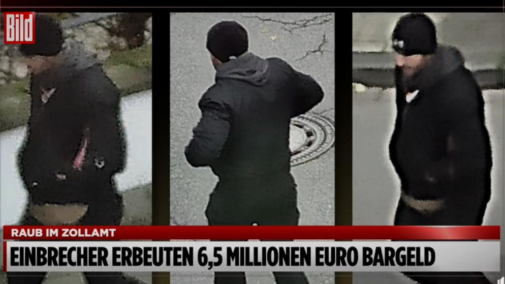 Iz Carinske uprave na zapadu Njemačke ukradeno 6,5 milijuna eura
