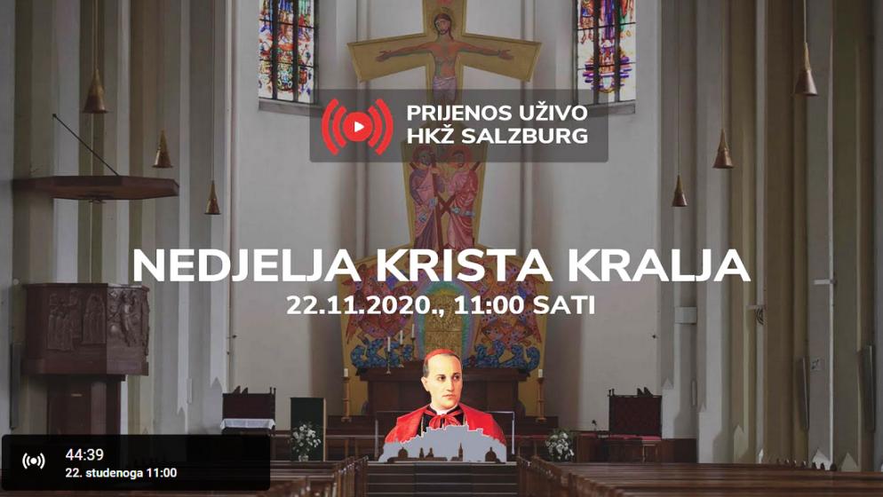 UŽIVO IZ SALZBURGA – Prijenos svete mise u 11 sati