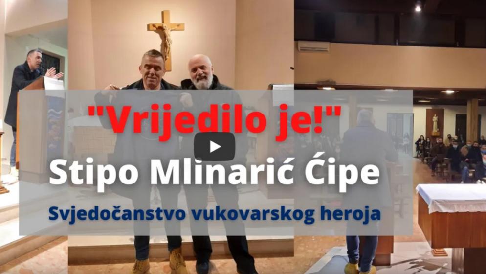 (VIDEO) 'VRIJEDILO JE' Snažno svjedočanstvo vukovarskog heroja