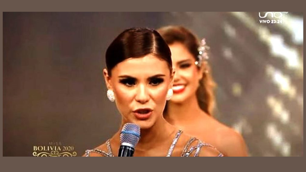 POBIJEDILA NE SAMO ZBOG LJEPOTE - Lenka Nemer Drpić, Bolivijka hrvatskoga podrijetla, okrunjena za Miss Bolivije Universe 2020.