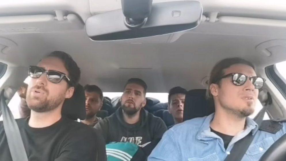 (VIDEO) Kad se klapaši i mlada glazbena nada Hrvatske nađu u autu nastane ovo: