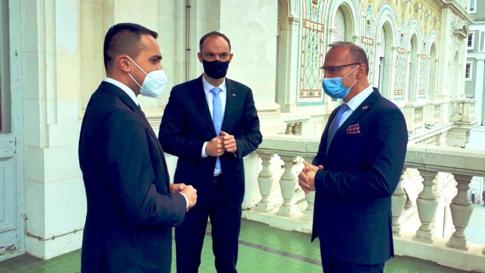 Šefovi diplomacije Hrvatske, Italije i Slovenije usvojili zajedničku izjavu