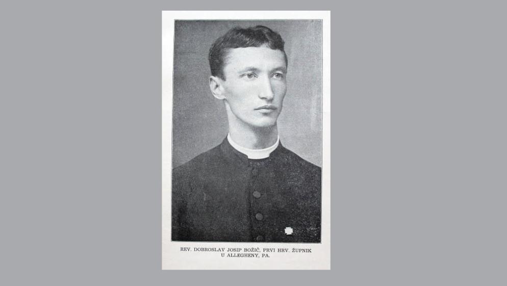 HRVAT IZ BOSNE I HERCEGOVINE osnovao prvu Hrvatsku katoličku župu u Sjedinjenim američkim državama