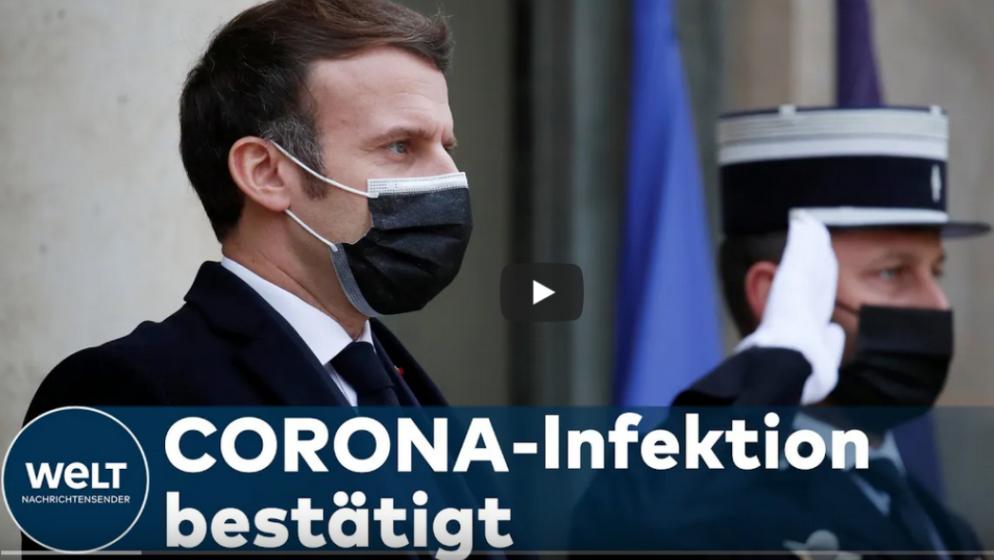 Francuski predsjednik Macron pozitivan na koronavirus